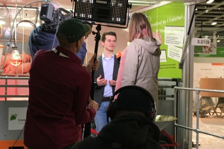 Thomas Fabry bei ZDF Morgenmagazin